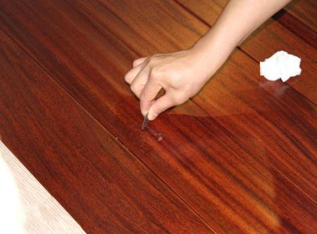 测评:久盛圆盘豆实木地板