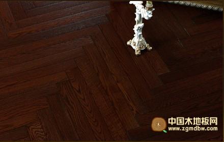万松地板-实木地板系列-橡木拼花