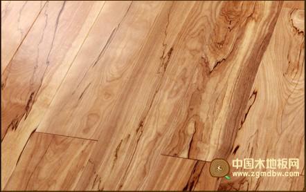 万松地板-实木地板系列-山水桦木