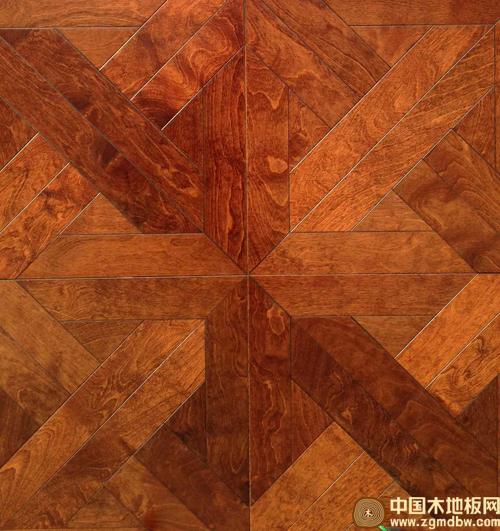 惠尔艺术拼花地板清幽温馨-中国木地板网