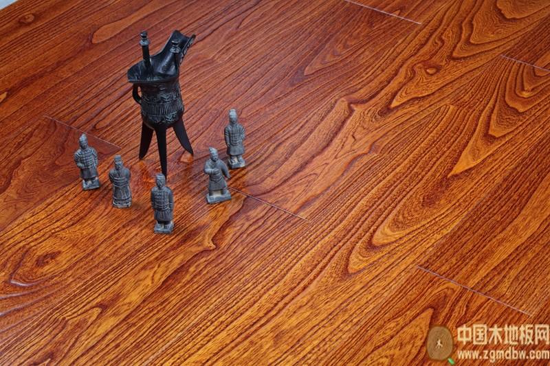 米乐居地板-多层仿古荷木-中国木地板网