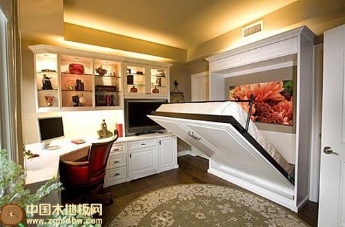 非常新颖的装修妙招 小房子也能五脏俱全-中国木地板