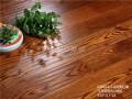 北美红橡 卡布奇诺色 纯实木地热 大卫地板