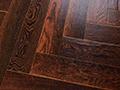 燕泥实木复合地板流金