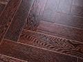 燕泥实木复合地板出水